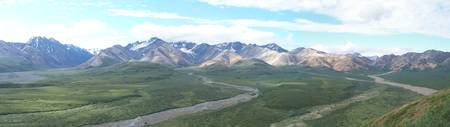Denali Mountain Range