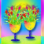 """""Two Yellow Goblets"""" by TSCOT"