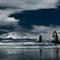 Cannon Beach, Oregon Art Prints & Posters by Michael Pettigrew