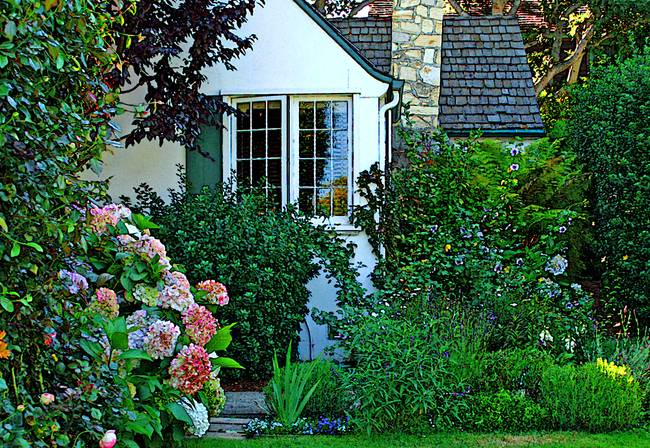 Stunning Fairy Tale Cottages Of Carmel Artwork For Sale on Fine
