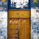 """Yellow Star Door"" by AndreaMoorePhotography"