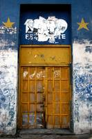 Yellow Star Door