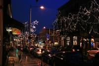 Main Street Manayunk at Christmas