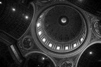 The Main Dome (black & white)
