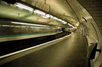 Paris subway station