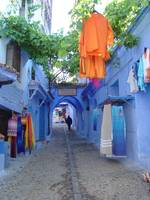 Colorful Moroccan Street