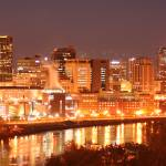 """St Paul River View"" by WaynePhotoGuy"