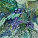 """Purple Grape Vine"" by DebGauthier"