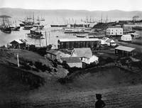 Rincon Point from Rincon Hill, 1851 San Francisco by WorldWide Archive