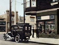 San Francisco Storefront c1925 by WorldWide Archive
