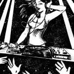 """DJ Eve"" by fallenfairy"