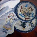 """Lunch: Polish Pottery XXVII"" by 88heather"