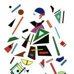 """Geometrical artist"" by AbstractArt"