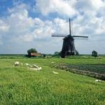 """Holland Windmill Landscape"" by kphotos"