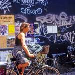 """Haarlem Biker and Graffiti"" by kphotos"