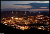 Millau by night