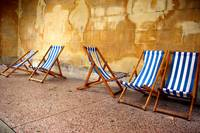 Quintet Of Deck Chairs