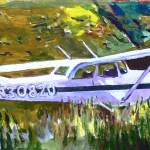 """Cessna in the Grass - study"" by Anno"