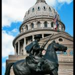 """Capitol Building, Austin Texas (statue)"" by Sublimeimage"
