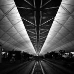 """Vanishing in Hong Kong Airport"" by mrhappy8"