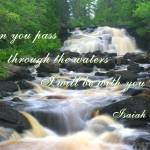 """Through The Waters - Isaiah 43:2"" by jansmith"