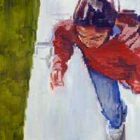 """Getty Kid With Red Shirt"" by Warren Keating"
