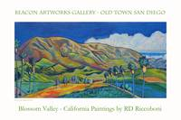 Blossom Valley Beacon Artworks Poster
