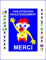 Fais Attention - Fairy Tale Poster