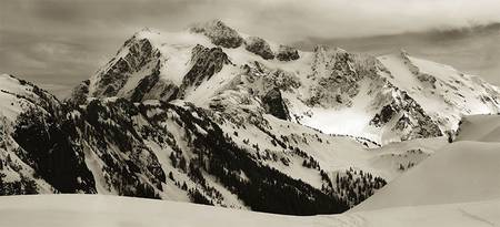 Mt-shuksan in winter