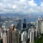 """""""Clear view over Victoria Harbour, Hong Kong"""" by HellonEarth"""