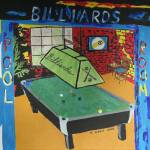 """local pool room"" by Sebree"