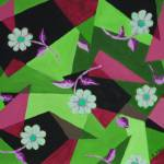 """springtime green pink"" by Sebree"