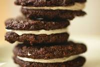 Homemade Oreos: Close-Up