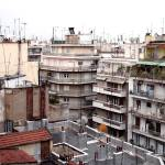 """Thessaloniki neighbourhood"" by debbsview"