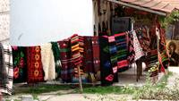 traditional bulgarian blanket clothes line