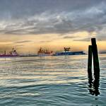 """Galveston Ship Channel - Galveston Texas"" by sharkytx"