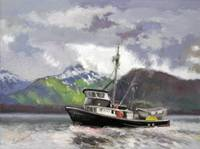 Chilkat Mountain Alaskan Seiner...Fishing Bound