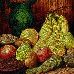 """Fresh fruit tiled"" by Stephensfineart"
