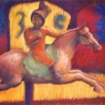 """Tang Horsewoman"" by ellendreibelbis"
