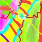 """flower of frozen lake yellow"" by anir"