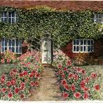 """Ivy Covered Cottage"" by theartistfemme"
