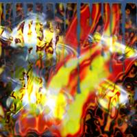 flame extract colorfull blurred copy