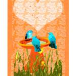"""blue bird valentine card.ik"" by eyecontact"