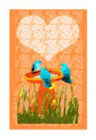 blue bird valentine card.ik