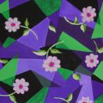 """tiff springtime purple green"" by Sebree"
