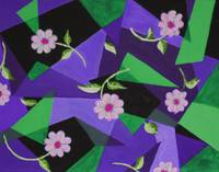 tiff springtime purple green