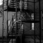 """fire escape stairs"" by razvan"