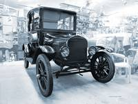 Model-T Workshop1 in Blue