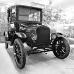 """Model-T Workshop in Black & White"" by DocPixel"