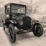 """Model-T Workshop in Sepia"" by DocPixel"
